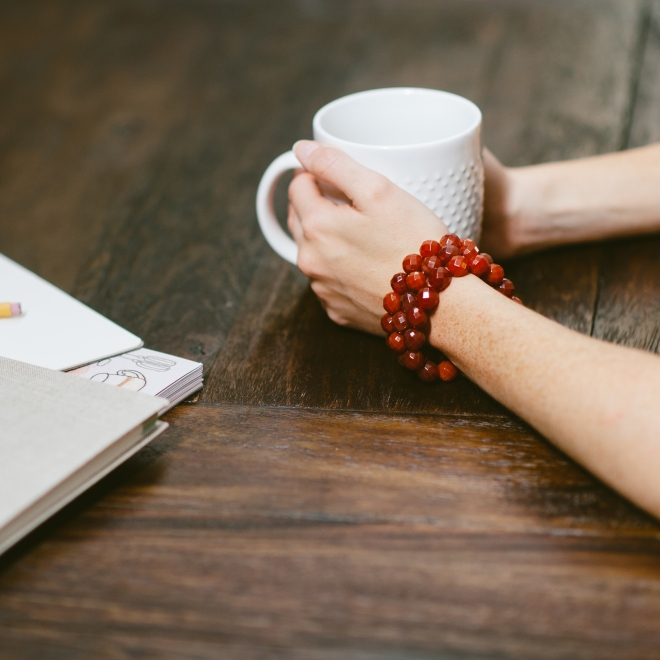 Coffee Shop Sienna Bracelets