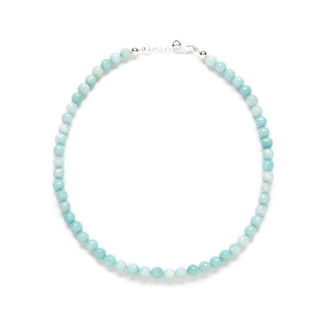 Light Blue Gemstone Necklace