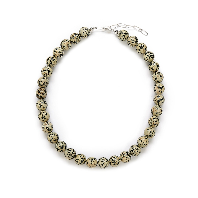 Animal Print Statement Necklace by Kluster