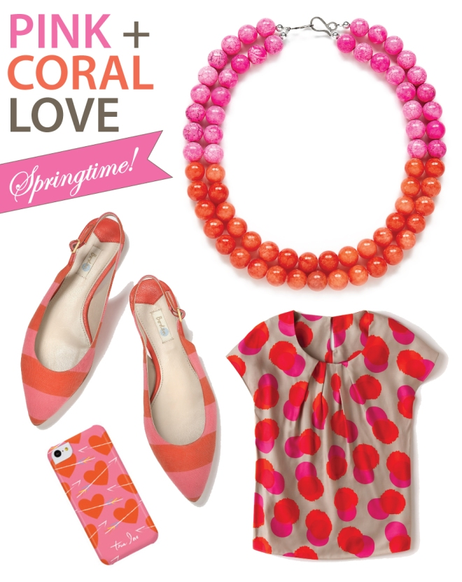 Coral Pink Orange Clothes, Shoes, Jewelry, and Accessories