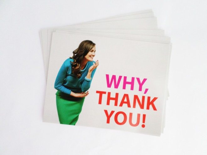 "Kluster Love Notes ""Why, Thank You!"""