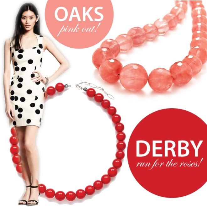 Derby Dress Ideas and Jewelry