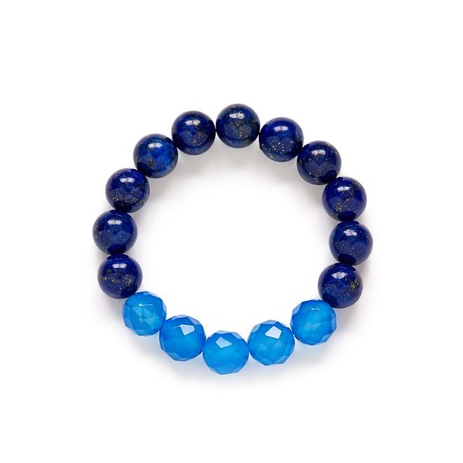 Blue Lapis Bracelet by Kluster Shop