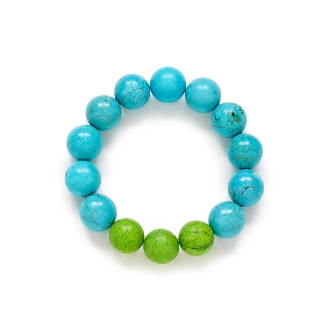 Turquoise Green Ombre Bracelet