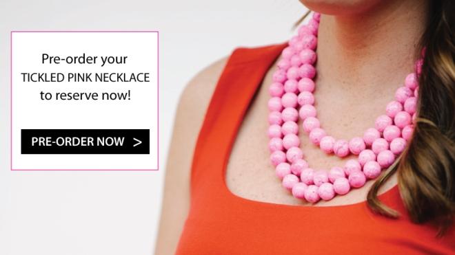 Hot Pink Necklace at Kluster
