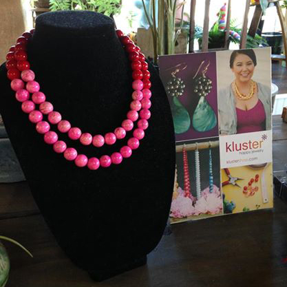 Kluster Necklace at Nanz and Kraft Flowers