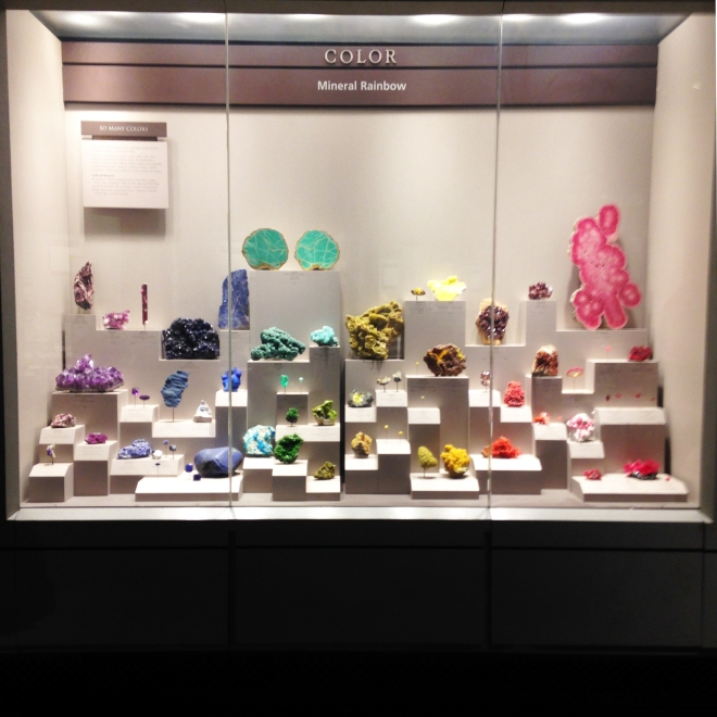 Smithsonian Gem and Mineral Rainbow