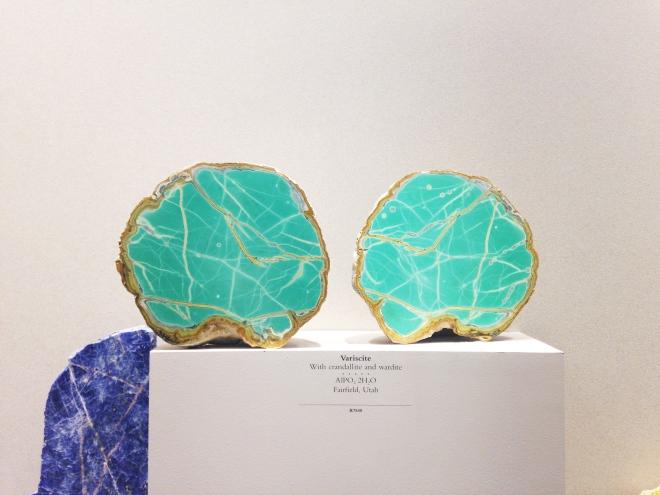 Turquoise Variscite Mineral