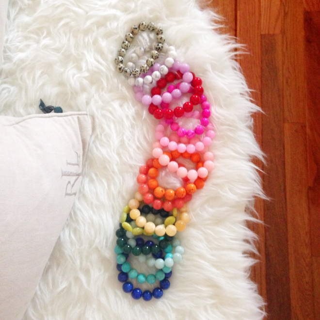 Colorful Bead Bracelets by Kluster