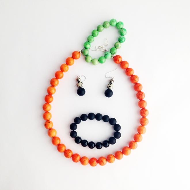 Halloween Jewelry Orange