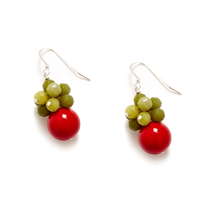 Merry-Cherry-Christmas-Cluster-Earring-BLog